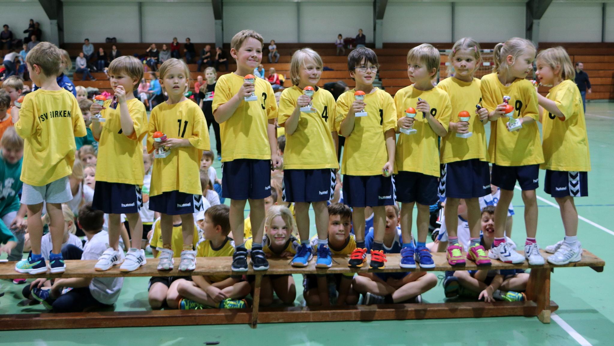 "TSV Birkenau - ""Minis"" beim Turnier in Hemsbach @ 15.11.2015"