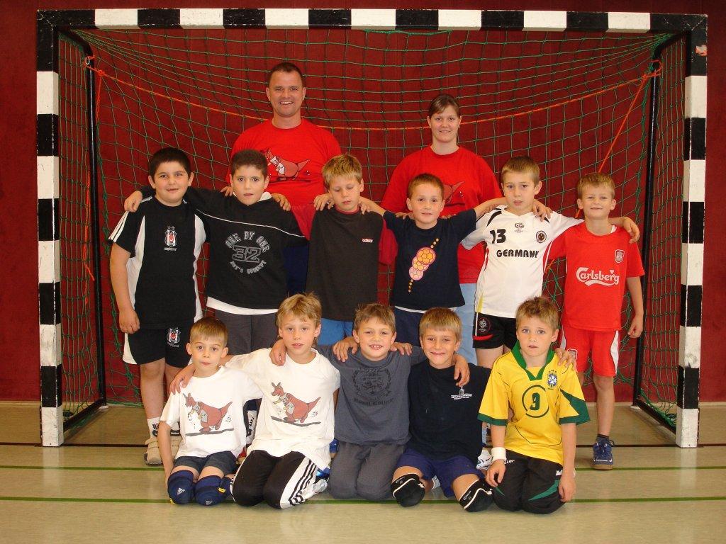Minis (G1) Saison 2007/2008