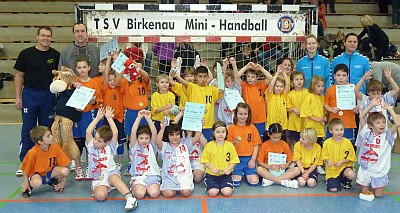 Minispielfest TSV Birkenau 12/2010