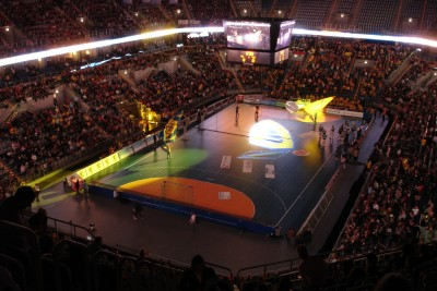SAP Arena Blick